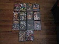 14 DVD HORRR SCI-FI  LOT - SEVEN DOORS OF DEATH, PUPPET MASTER - NEW SEALED