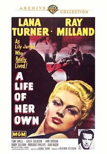 A-Life-de-Her-Own-DVD-1950-Lana-Turner-Ray-Milland-George-Cukor