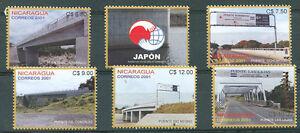 NICARAGUA-JAPAN-Mi-4279-83-Complete-Set-MNH-VF