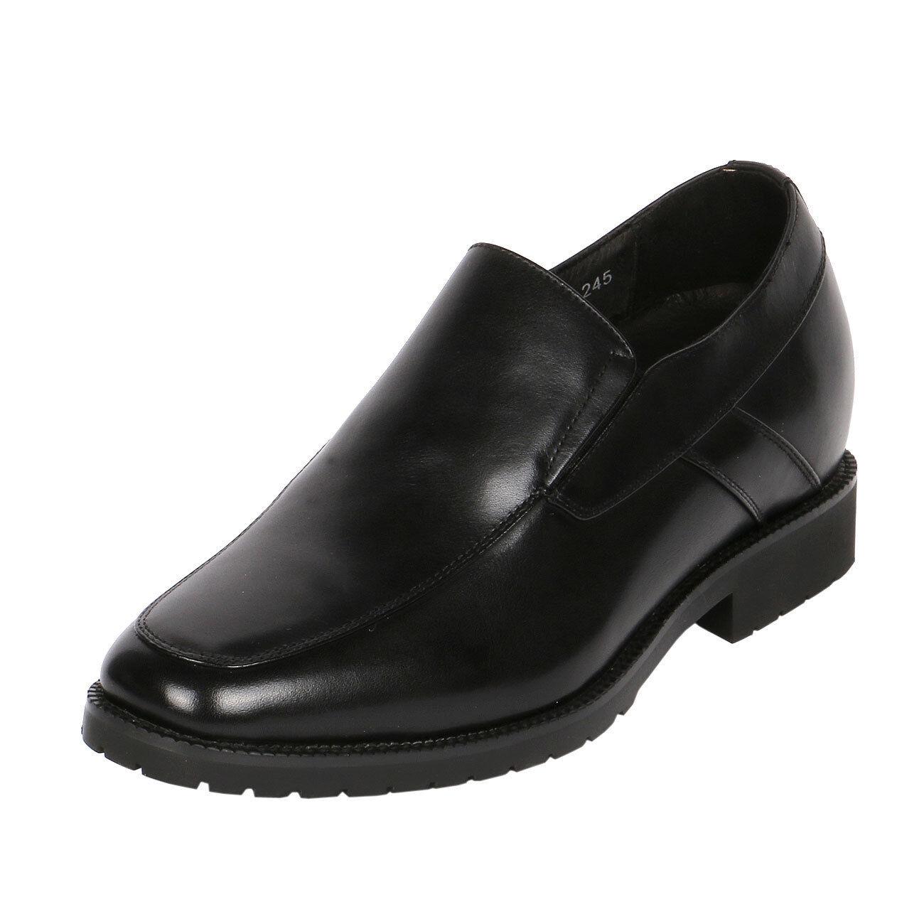 Delantal De Hombre Jota Toe Slip-on Zapato Aumenta Altura 3  más alto, CYD84