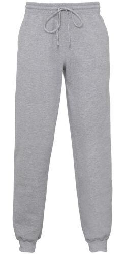 Gildan GD086  Heavy Blend Cuff Sweatpants Pants Casual Wear Trousers ComfortFit