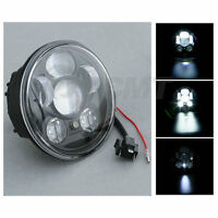 5.75inch Black Motorcycle Projector Led Front Headlight Lamp For Harley-davidson