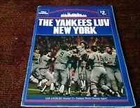1979 NEW YORK YANKEES YEARBOOK