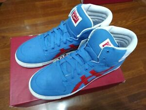 hot sale online dcf1e 0e96c Details about Asics Onitsuka Tiger Blue/Red Shoes A-SYS MT SIZE US#9 JP27