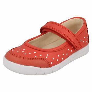 rosa Niñas Coral Emery Halo estilo Clarks de Zapatos Casual Mary Jane qw1vqrx