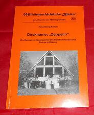 Militärgeschichtliche Blätter - Kampe - Deckname Zeppelin Die Bunker im .....