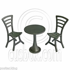 dollhouse outdoor furniture. Image Is Loading Outdoor-Garden-Tea-Coffee-Table-Chairs-Set-1- Dollhouse Outdoor Furniture E