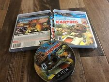 LittleBigPlanet Karting (Sony PlayStation 3, 2012) Used Free US Shipping