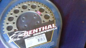 Renthal 45T Rear Sprocket 206A-525-45HA to fit Kawasaki ZX-6R  1995-1997