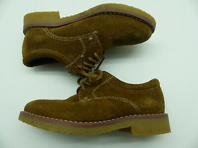 Marks & Spencer Boys Suede Brogues Lace up shoes Brown UK ...