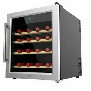 Vinoteca CECOTEC Grand Sommelier 1600 SILENCEWOOD / 16 botellas