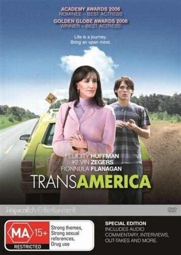 1 of 1 - Transamerica - Felicity Huffman Kevin Zegers DVD