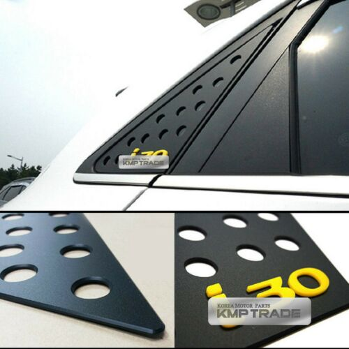 C Pillar Window Glass Sports Plate Molding Yellow For HYUNDAI 2013-16 Elantra GT