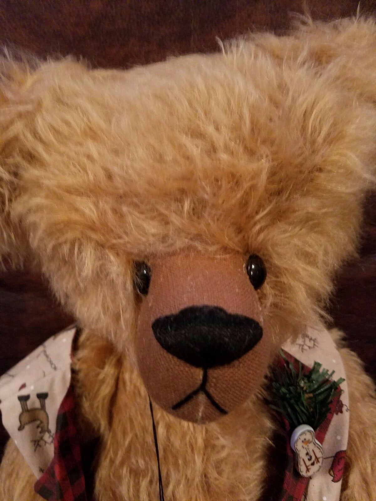 18   JR  Mohair Bear by Lori's Bears (Des Moines, Iowa)  1 of 50 High Quality