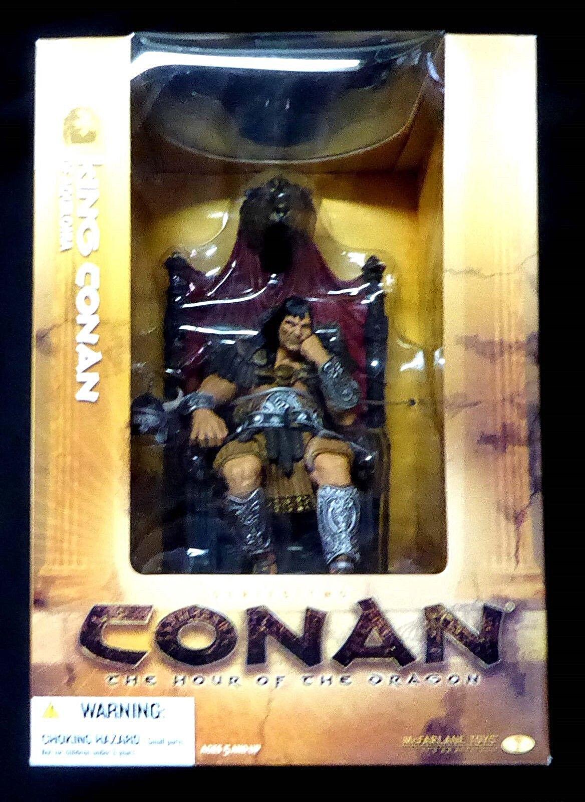 McFarlane giocattoli Conan Series 2 re Conan of of of Aquilonia Deluxe scatolaed Set nuovo 2005 f5eb79