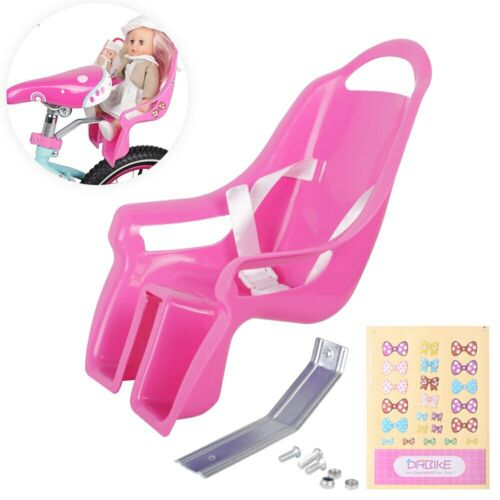 Bike Doll Carrier Seat Kids Girls Seats Post Dolls Holder Stickers Bicycle Kit