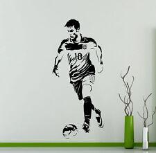Neymar Wall Decal Barcelona Football Vinyl Sticker Art Decor Sports Mural 39ft