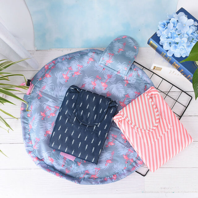 toiletry bag lazy makeup bag quick pack waterproof travel bag drawstringStora vK