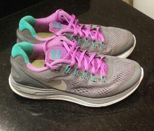 1507997cd3439f Nike Lunarglide + 4 running sneakers shoes 524978-015 women s size 7 ...