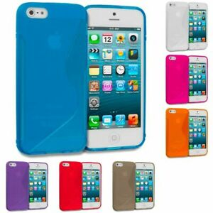 Antichoc-Slim-etui-en-Silicone-Housse-de-Protection-pour-Apple-iPhone-SE-2020-Modele