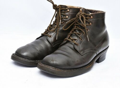 WHITE'S BOOTS USA PACKER Oiled LEATHER WORK Laced