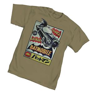 Batman-Batmobile-034-Import-034-Tee-Shirt-T-Shirt-S-Small