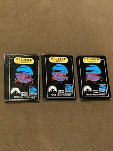 Lot-of-3-Puppet-Master-III-Full-Moon-Cards-Non-Sports-Cards-Sealed-Wax-Packs-NEW