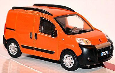 Modellauto Bburago Fiat Fiorino Van Kastenwagen orange NEU in OVP 1:43