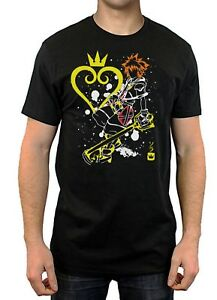 The-Key-Collection-T-Shirt-Kingdom-Hearts-Men-039-s-Gaming-Tee-Shirt-Top