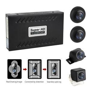 360-Bird-View-Panorama-System-4-Camera-720P-Car-DVR-Recording-Rear-View-Camera