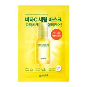 GOODAL-Korean-Green-Tangerine-Vita-C-dark-Spot-Serum-Facial-Sheet-Mask-30ml
