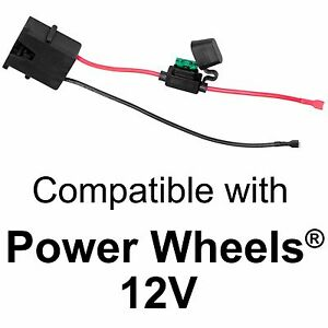 Wire-Harness-Connector-for-Fisher-Price-Power-Wheels-12-Volt-SLA-Battery