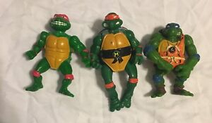 Vintage-TMNT-Teenage-Mutant-Ninja-Turtles-Action-Figure-1992-Mirage-Studios-Toy