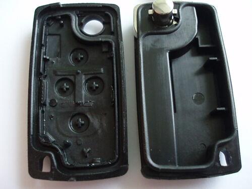 Rfc 4 Tasten Klapp Schlüssel Gehäuse für Peugeot 1007 807 Batterie auf Platine