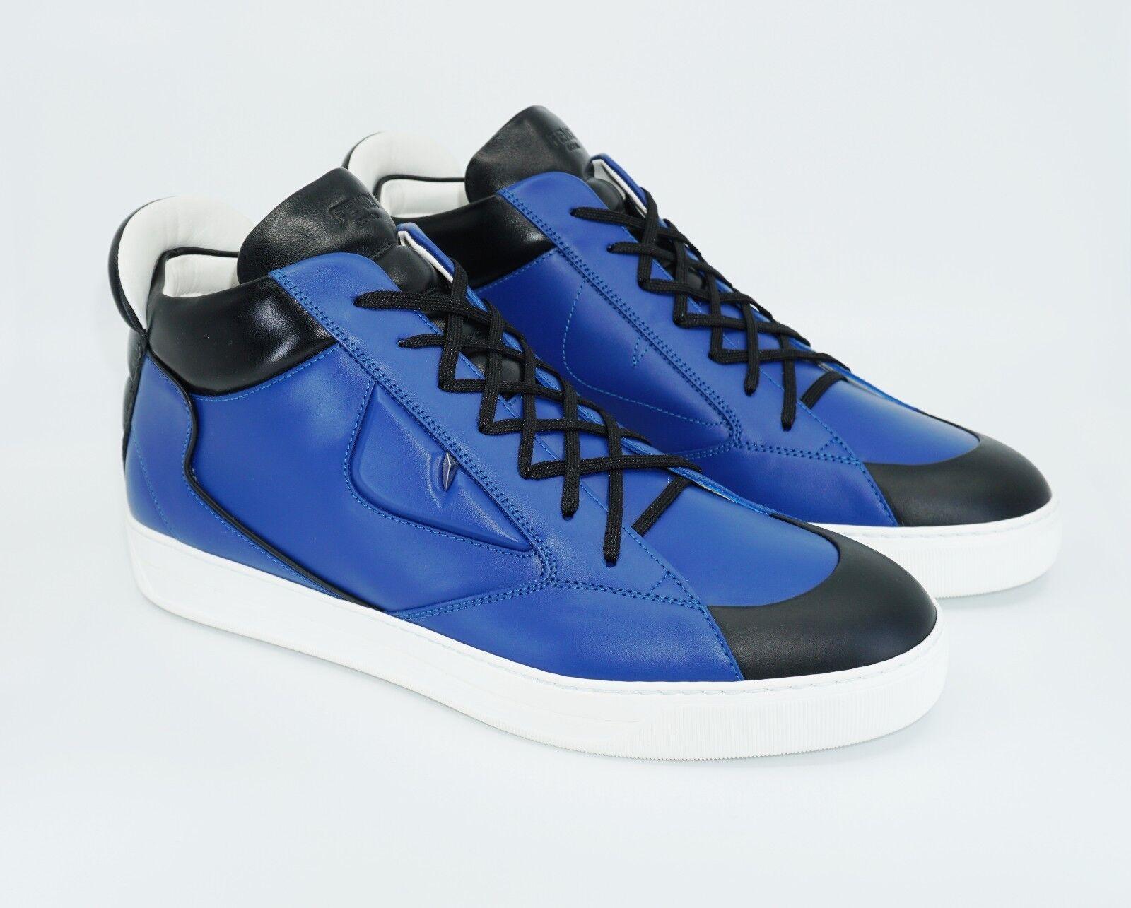 fabricants les Bleu, sport, de mi haut cuir détail Yeux