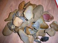 Sparking Flint For Flint And Steel Fire Kit Natural Flint Stone 9 Pounds
