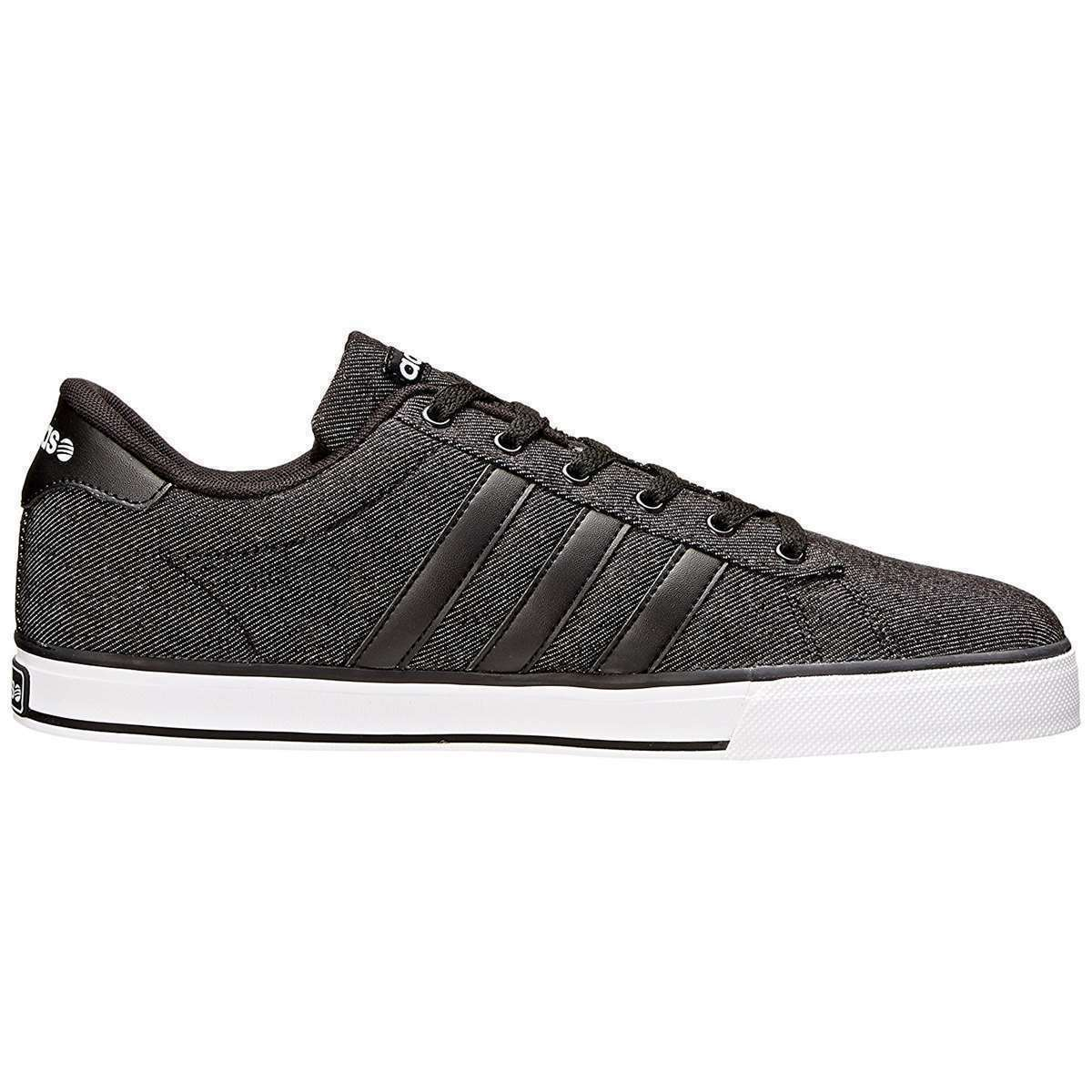 Adidas NEO Se Daily Vulc Men's Shoes Sneakers Casual Sneakers Shoes Black F76263 Size 8 *% 11e7ec