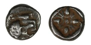 Greek-Ancient-Iona-Miletus-6th-5th-Century-BC-SILVER-1-12th-Stater-Obol-008