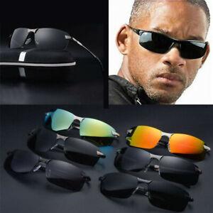 Men-039-s-Polarized-Driving-Sport-Sunglasses-Fashion-Sun-Outdoor-Glasses-new-Eyewear