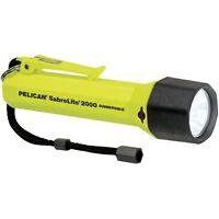 Pelican Sabrelite Xenon Flashlight (yellow) Carded