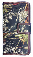 Official Mossy Oak Women Camo Wallet Ladies Camo Western Bifold Wallet Bt-4
