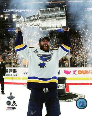 Alex Pietrangelo With Stanley Cup St Louis Blues 2019 Finals 8x10 Photo 2 Ebay