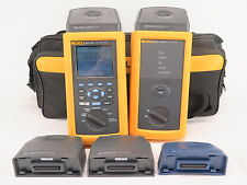 Fluke Networks Dsp 4100 Cable Analyzer With Dsp 4100sr Smart Remote Accessories