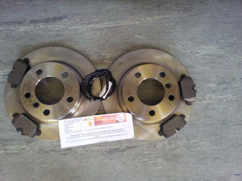 R61 Mini Paceman 1.6 2.0 Arrière Disques de Frein /& Plaquettes Capteur Câble
