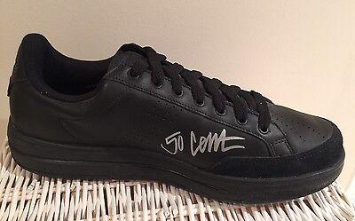 50 Cent Autographed G-Unit Reebok 1 Black Sneaker Rare Mint Condition 440c111c7