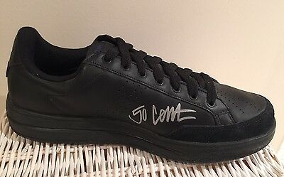 72ecebeca9ba3c 50 Cent Autographed G-Unit Reebok 1 Black Sneaker Rare Mint Condition