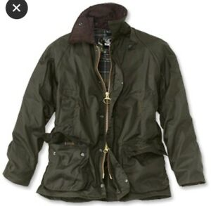 ORVIS-campo-CAPPOTTO-GIACCA-WAXED-Beaufort-XL-46-VERDE-CACCIA-PESCA-RRP-250