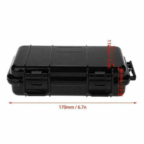 Outdoor Plastic Shockproof Sealed Waterproof Storage Box Case Tool Holder H8V5