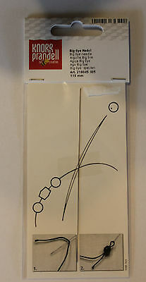 Perlenaufreih-Spezialnadel Perlenfädelnadel  Big-Eye-Nadel 70 mm 1 Stück