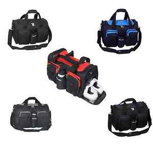 Image Is Loading Everest Gym Bag Sport Travel Wet Pocket Shoe